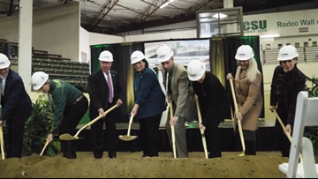 CSU breaks ground on Temple Grandin Equine Center