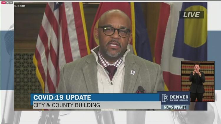 Mayor Hancock provides COVID-19 update