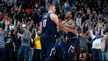 Jokic hits buzzer-beater to lift Nuggets over Mavs 100-99