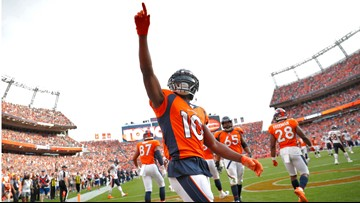 Broncos notes: Ironman Sanders turns durability into production