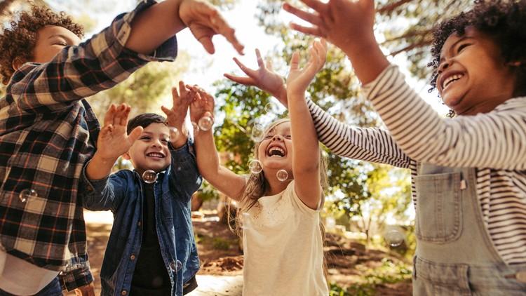 Just 20 minutes outside works wonders for kids' mental health