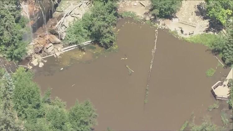 Experts waiting to examine impact of mudslides on Hanging Lake