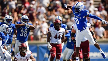 Hammond leads way with 3 TDs, Air Force beats Colgate 48-7