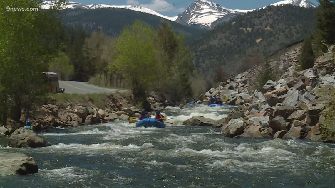 White water rafting season starts in Colorado