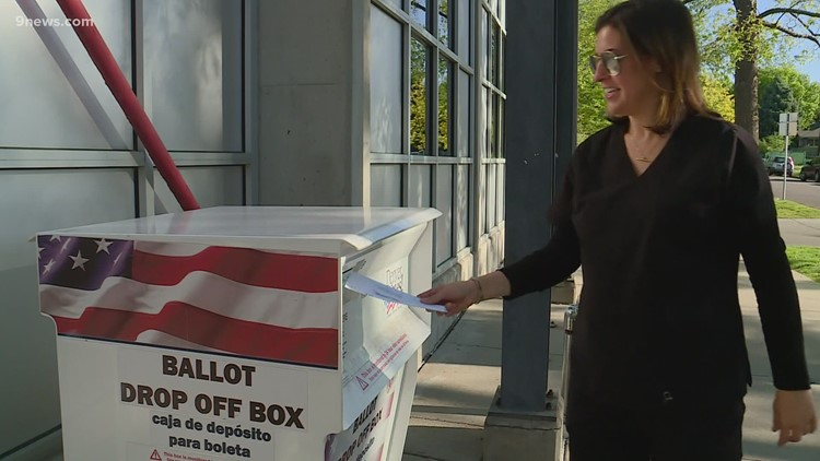First time voters cast ballots in Colorado