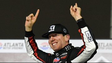 Kyle Busch finalizes extension to drive for Joe Gibbs Racing