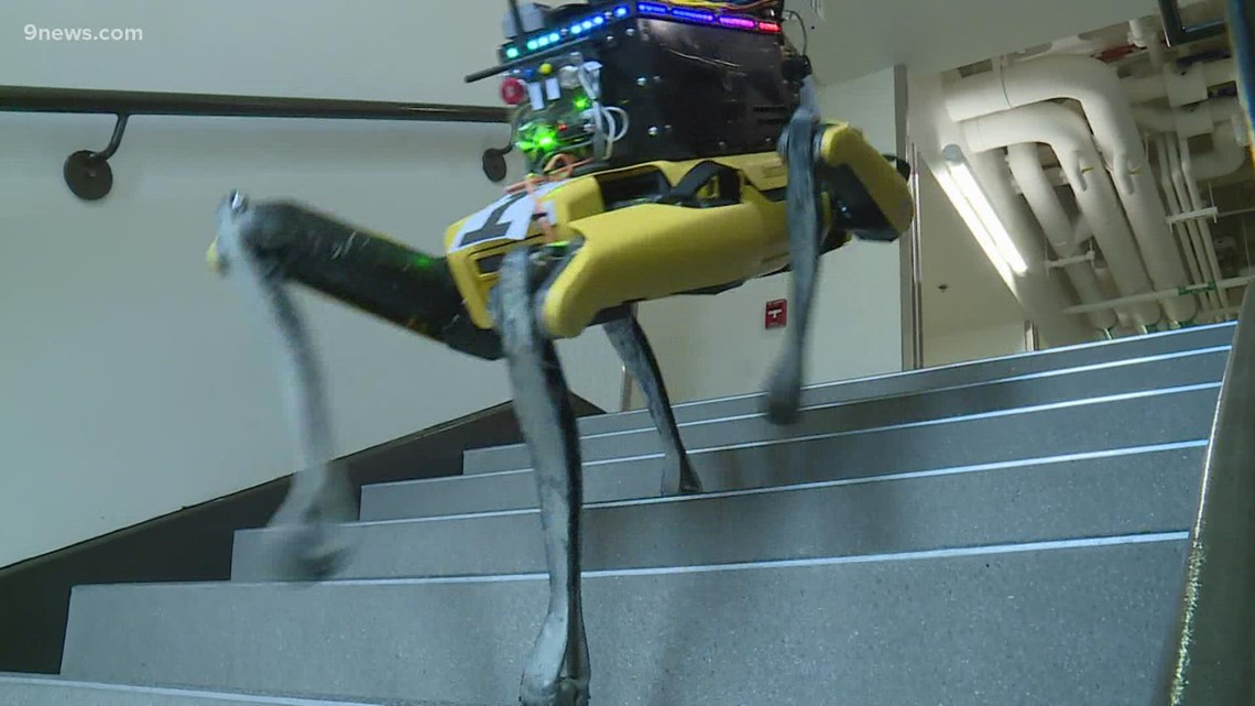 Rescue robots built by CU Boulder students compete in world competition