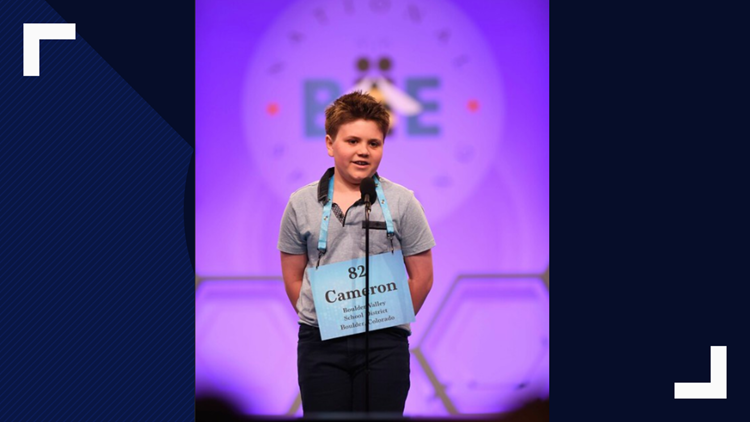 Cameron Keith, Scripps National Spelling Bee 2019 finalist