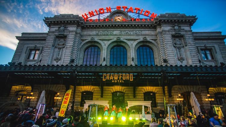 Denver Union Station kicking off the holiday season with  Grand Illumination
