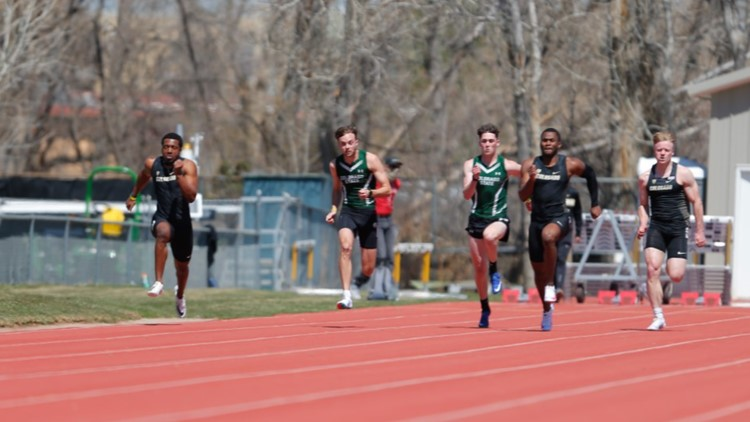 CU football players bring competitive attitude to the track