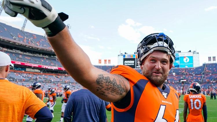 49ers Broncos Football Dalton Risner