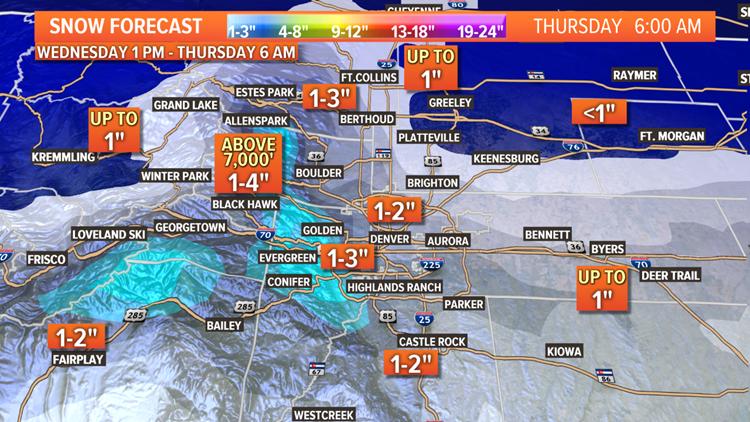 Snow forecast 2-18-2020