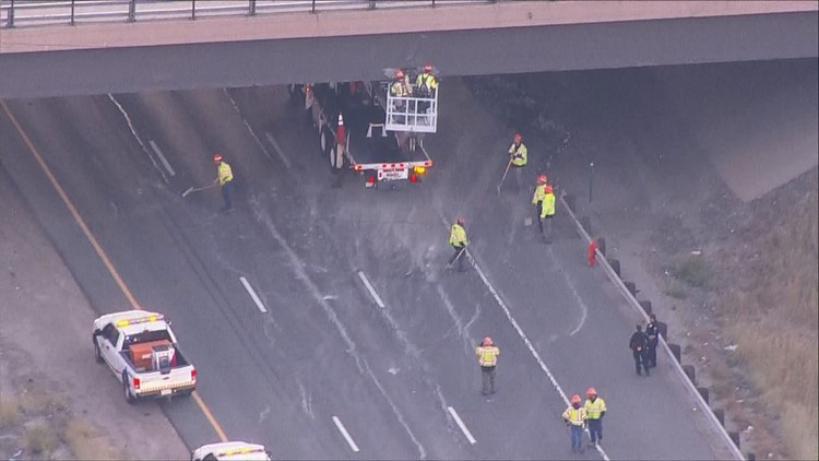 EB I-70 fully reopens after CDOT determines bridge is safe