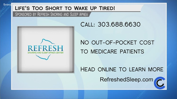 Refresh Snoring and Sleep Apnea Center - June 15, 2021
