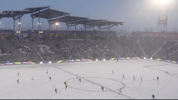Late goal lifts Rapids to 3-3 draw in coldest match in MLS history