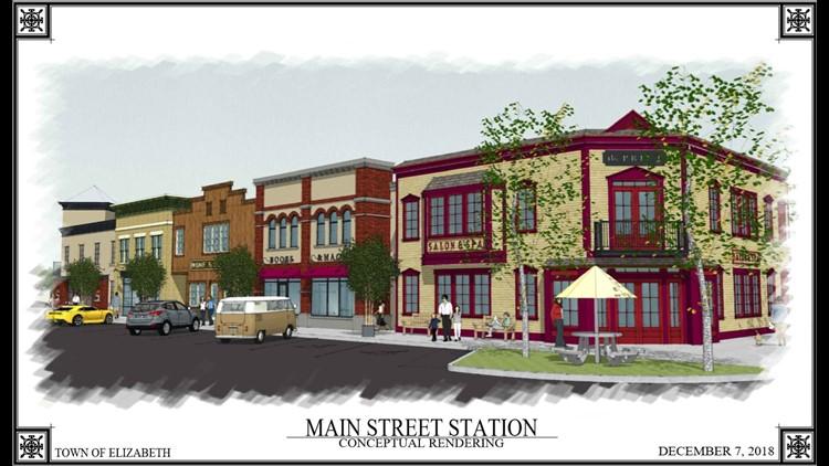 Elizabeth Main Street Station