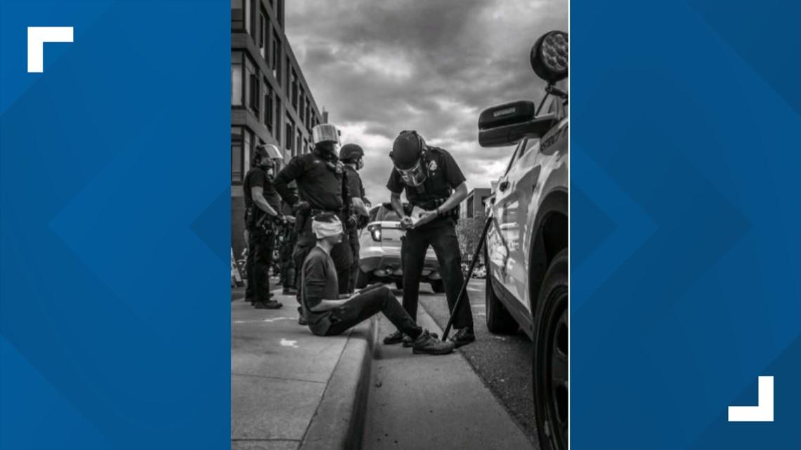 Student injured during George Floyd protest sues Denver Police
