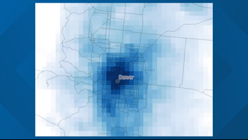 Satellite shows less air pollution in Denver during COVID-19 outbreak