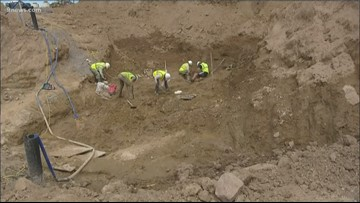 Excavation of dinosaur bones concludes at Highlands Ranch construction site