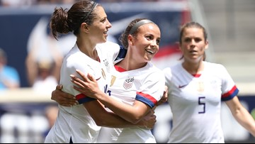 US women beat Mexico 3-0 in unimpressive World Cup send-off