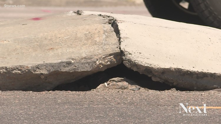 Why does Parker Road keep buckling?