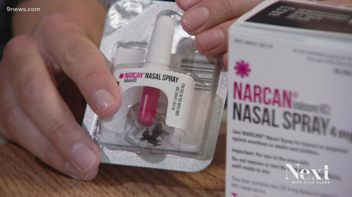 Colorado hospital distributes overdose antidote Narcan to new and expecting parents