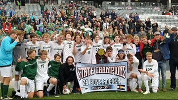 Last-minute goal lifts Ridgway to 2A soccer title