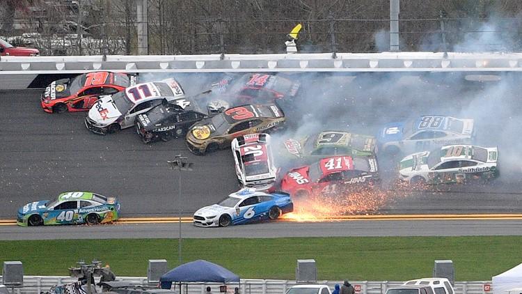 APTOPIX NASCAR Daytona Clash Auto Racing