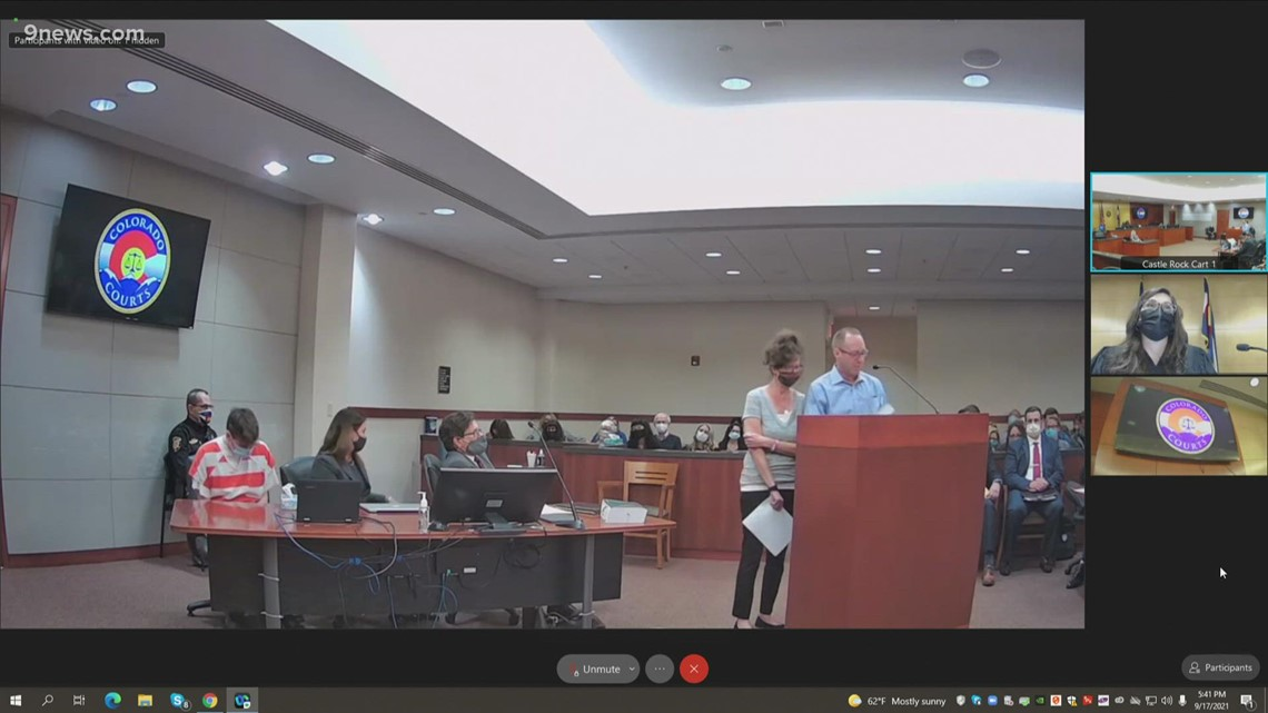 STEM shooter's family speak at his sentencing hearing