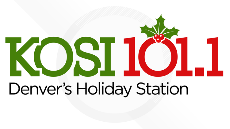 KOSI 101.1 Denver's Holiday Station