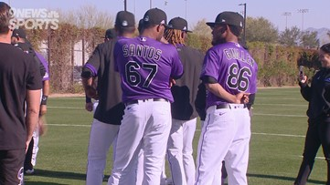 MIC'd Up: Catcher Tony Wolters having fun at Rockies spring training