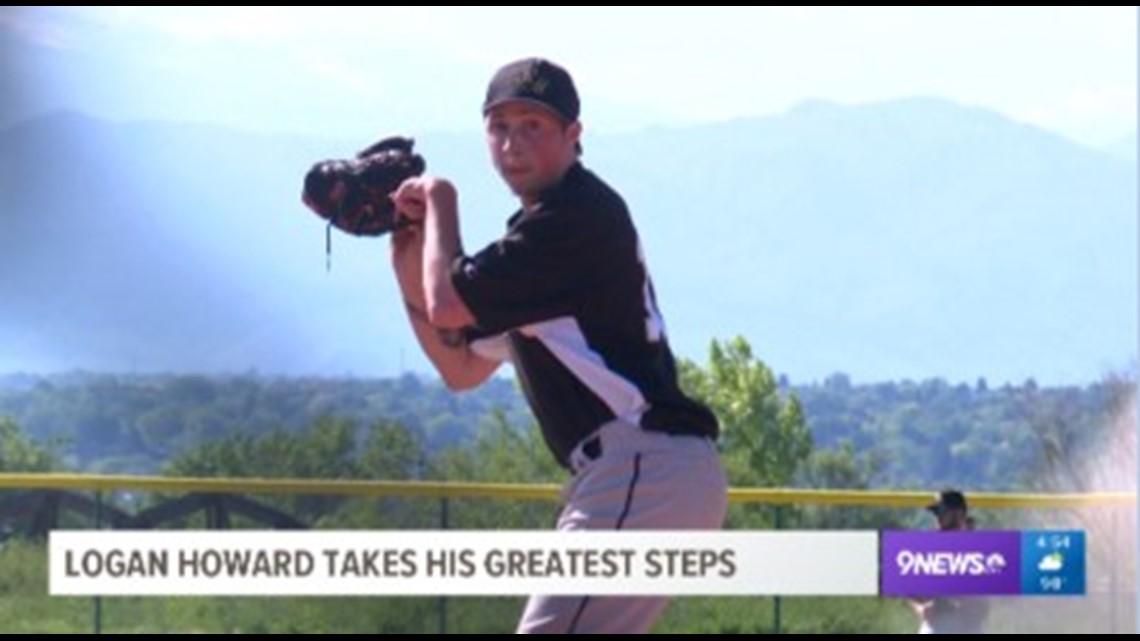 Logan Howard takes his greatest steps