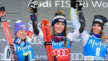 Shiffrin dominates giant slalom for 10th victory of season