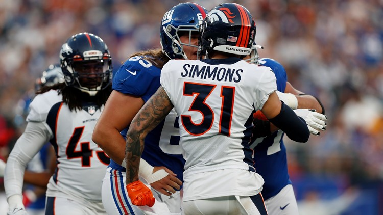 Justin Simmons aware of snap streak, but hardly consumed by it