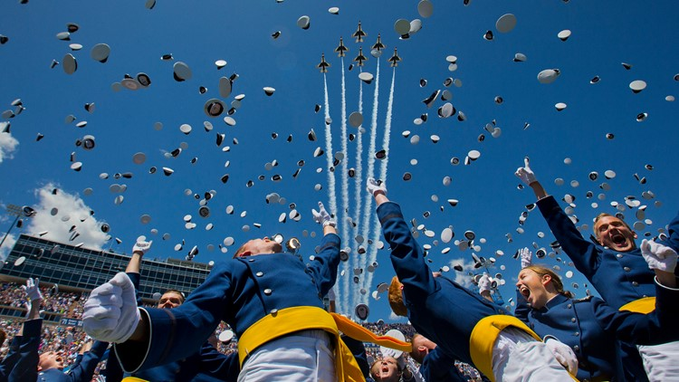 Trump to speak at Air Force Academy graduation in May