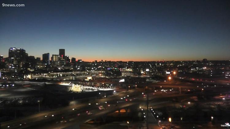 Watch Live: Sunrise over Denver