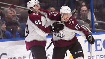 Jost's hat trick powers Avalanche past Lightning