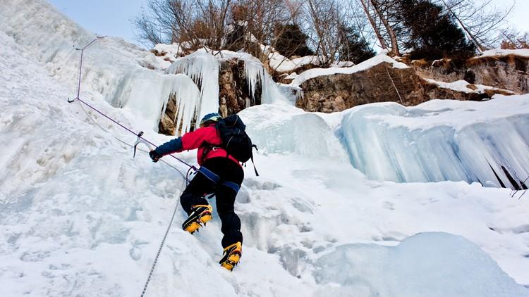 ice climbing winter festival