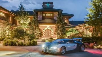 Evergreen mansion with car museum listed for nearly $20M