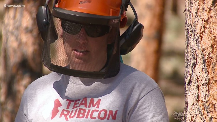 Veterans help with wildfire prevention