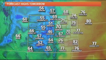 Cool Thursday, much warmer Friday and into the weekend