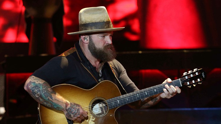 Zac Brown with the Zac Brown Band