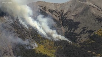 Decker Fire reaches 30% containment, has burned over 7,300 acres