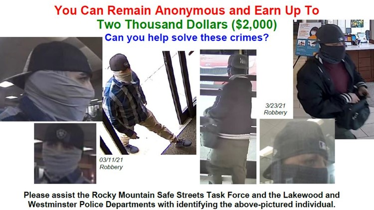 FBI, police need help identifying man suspected of 2 bank robberies