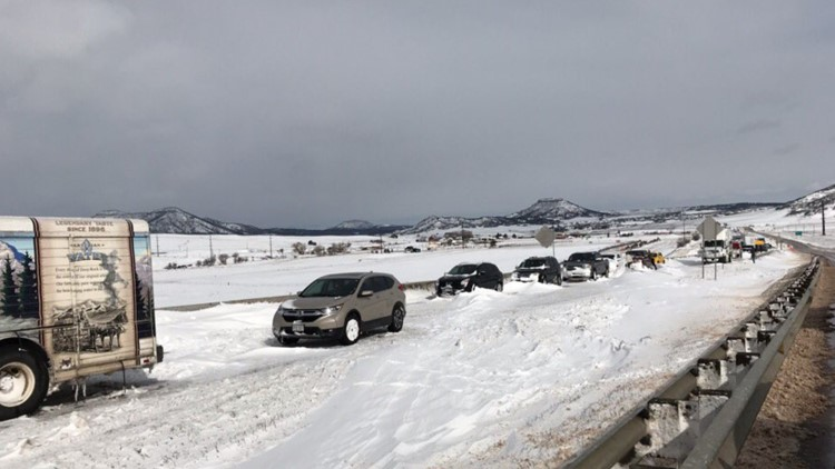 Rescued driver describes how he became stranded in Colorado snowstorm