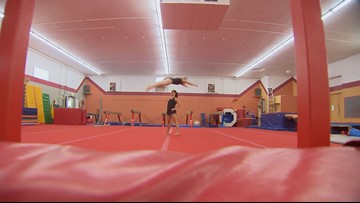 Why this Denver gymnast is inspired by Simone Biles