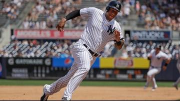 Hot day, hot bats: Yankees torch Rockies 11-5