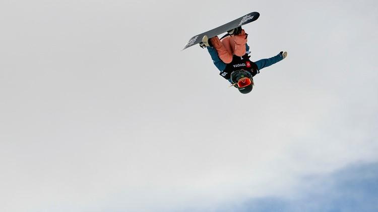 Snowboard Halfpipe World Championship Chloe Kim