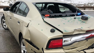 1 trooper, 3 CSP patrol cars hit in Colorado since Thursday