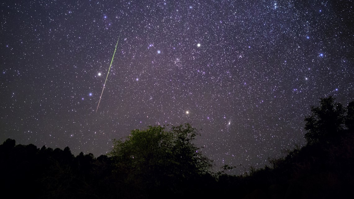 Leonid meteor shower peaks Sunday night. Here's the best time to see it